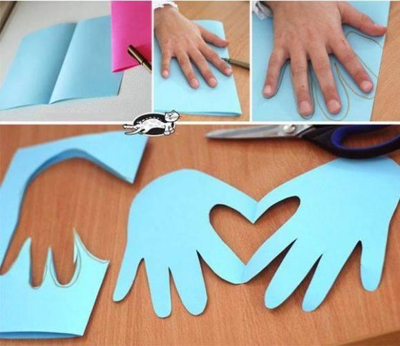 открытки +своими руками, открытки валентина +своими руками